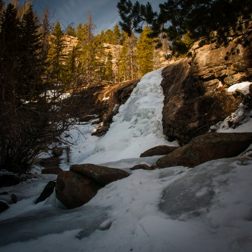 Bridal Veil Falls Winter #1