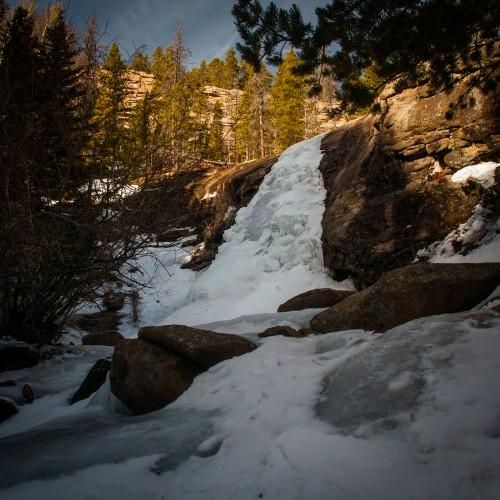 Bridal Veil Falls Winter #1
