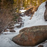 Bridal Veil Falls Winter #2